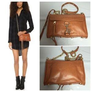Rebecca Minkoff Mini Mac  Leather Cross Body bag